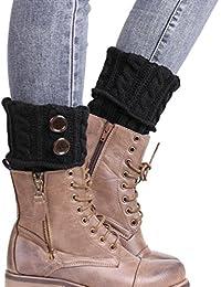 Fulltime® 2016 1 Paire Knitting Socks Jambières Boot Cover Gardez chaussettes chaudes