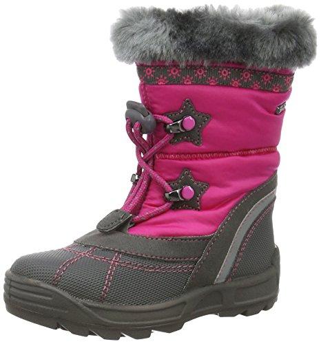 Richter Kinderschuhe Freestyle, Bottes et bottines à doublure chaude fille Rose - Pink (Fuchsia/Steel 3501)