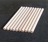 Set mit 10 Holzschlägeln