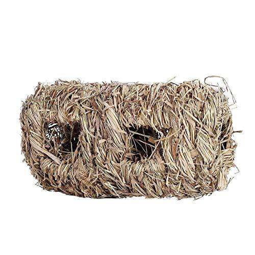 Haustier Kaninchen-Gras-Haus-Kauspielzeug-Matten-Bett for Hamster-Meerschweinchen-Gras-Stand-Stroh ungiftiges umweltfreundliches langlebiges Gut für Katze Hund -