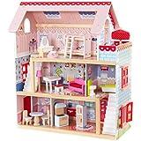 KidKraft Wooden Dolls House Chelsea Doll Cottage