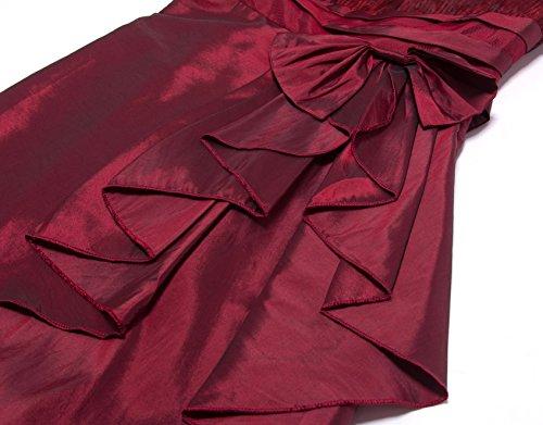 Zarlena Cocktailkleid Abendkleid Ballkleid Abiballkleid in mehreren Größen und Farben Rot