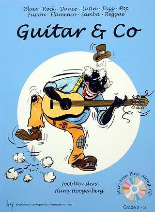 Guitar & Co - arrangiert für Gitarre - mit CD [Noten / Sheetmusic] Komponist: WANDERS JOEP+ HOOGENBERG HARRY