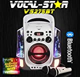 Vocal-Star CDG Bluetooth Karaoke Machine With Dancing Water Feature & Led Light Show