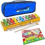 Sonor GS Glockenspiel + KEEPDRUM Tasche + Meine bunten Noten - Lernen mit Farbsystem