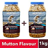 #1: Meat up Mutton Flavour Biscuit, 500g (Buy 1 Get 1 Free)