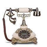 NYDZDM Continental Retro Teléfonos Antiguos Household Vintage Vintage Teléfono Fijo Teléfono Home...