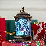 Dasongff Weihnachtskerze mit LED Tee Licht Kerzen für Weihnachtsdekoration Party Christmas Deko