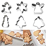 TianranRT Emporte-pièce en acier inoxydable pour biscuits cookies cutter cérémonies