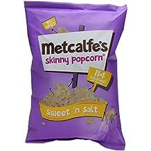 Metcalfe's Skinny Sweet and Salt Popcorn, 80 g, Pack of 8
