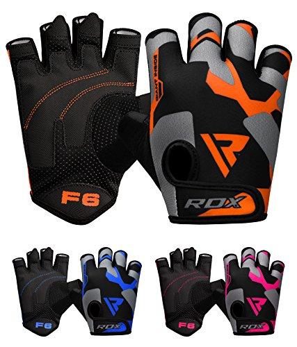 rdx guanti RDX Guanti Palestra Uomo Fitness Sollevamento Pesi Allenamento Bodybuilding Esercizio Pesistica Polso