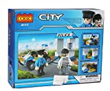 #2: Tickles Cogo City Police Blocks Bricks Models 81 Pcs(Blue)