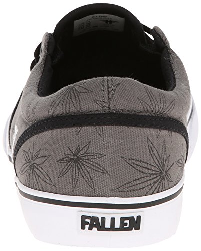 FALLEN EASY BLACK LEAF SLASH Signature Skate Shoes Black Leaf