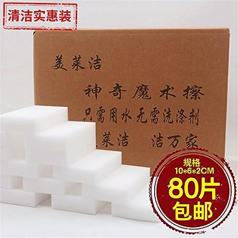 Limpiar esponja mágica Franklin Nano esponja fuerte barrido descontaminación Magic 10*6*2 de 80