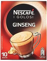 Nescafé Caffè Golosi Ginseng Preparato Solubile in Polvere al Caffè e Ginseng - 10 Tazze