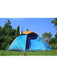azlife portátil anti-UV 3–4personas), diseño de domo Pop Up tienda de campaña con bolsa de transporte para Camping