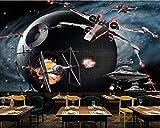 Wxlsl Papier Peint Fond D'Écran 3D Personnalisé Star Wars Airplane Game Tooling Mur De Fond-200Cmx140Cm