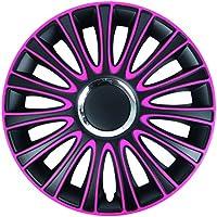 Veron Carbon Radzierblenden//Radkappen f/ür Auto 14 Zoll 4er-Set 14 Zoll 38,1 cm 35,6 cm