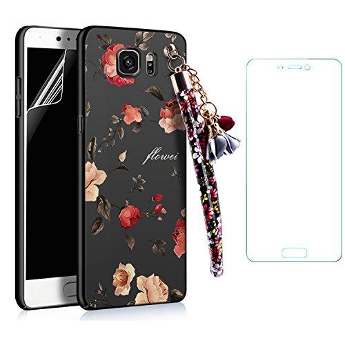 iPhone 7 / iPhone 8 Coque Strass Diamant Bling Luxe Sunroyal Coque pour iPhone 8,Rhinestone Housse Ultra Slim Cristal Brillant Téléphone Case avec 360 Degrés Rotation Bague Glitter Anneau Stand Holder Noir Rose