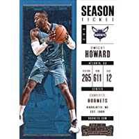 2017–18Dépasse Panini Season Ticket # 53Dwight Howard Charlotte Hornets Basketball carte