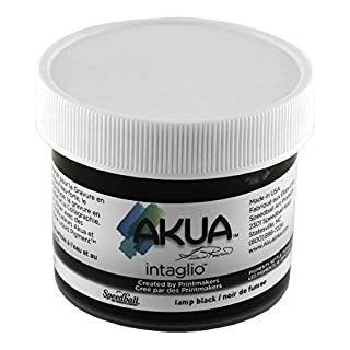 Akua Intaglio Ink 2 Oz Lamp Black