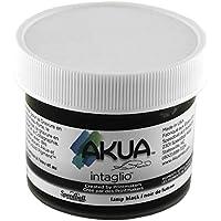 Tinta de grabado Akua 2 Oz de color negro