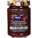 Hero Temporada Light Mermelada Frambuesa, Frasco de Cristal - 335 gr - [pack de 3]