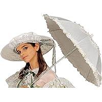 WIDMANN S.R.L. Widmann 6660B - Paraguas de estilo Belle Epoque, de diámetro 72 cm, Negro