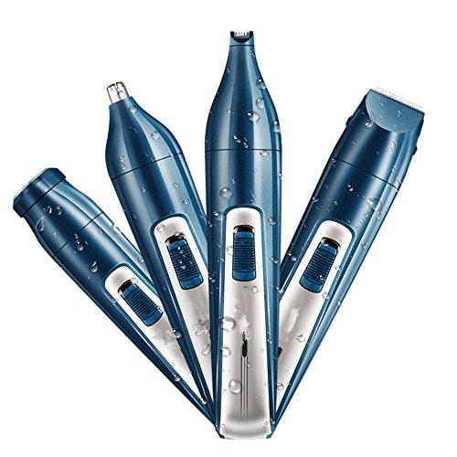 PIANZHI Elektrische Multi-Funktion Nasenohr Haarschnitt Rasier Schneider Männer Schmerzfrei Schneiden Wasserdichte Klinge (USB-Aufladung)