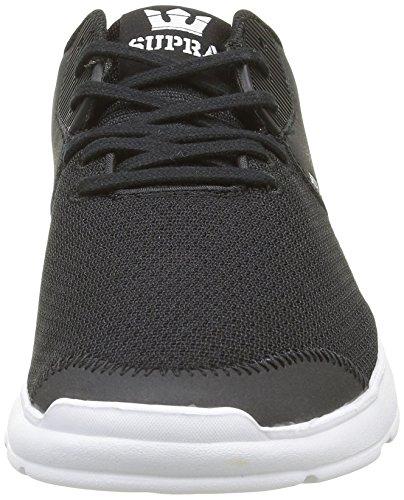 Supra - Noiz, Sneaker Unisex – Adulto Nero (Nero (Black/White))