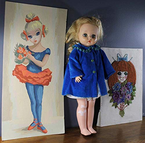 AUUYU Rahmenlos Digital DIY Ölgemälde Bilderrahmen Malerei Mädchen Schlafzimmer Vintage Baby Kinderzimmer Dekoration Wandbehang Wohnzimmer 40X50
