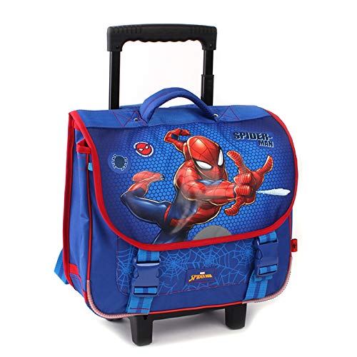 Spider-Man Trolley (Backpack) Cartable à roulettes...