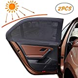 Fornisce Privacy Nero Magnetico Impedisci ai Bambini di Abbagliamento Solare 2 Pezzi Tenda Auto Universali per Finestrini Laterali e Posteriori ZATOOTO Tendine Parasole Auto