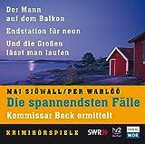 Die spannendsten Fälle. Kommissar Beck ermittelt: Krimihörspiele (5 CDs) - Maj Sjöwall
