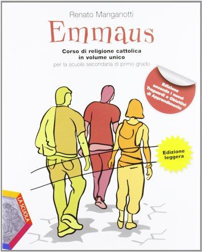Emmaus + Vangeli e Atti degli Apostoli. Versione leggera. Con espansione online. Per la Scuola media