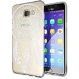 Samsung Galaxy A5 2016 Coque Protection de NICA, Housse Motif Silicone Portable Premium Case Cover Transparente, Ultra-Fine Souple Gel Slim Bumper Etui pour A5-16, Designs:Dreamcatcher