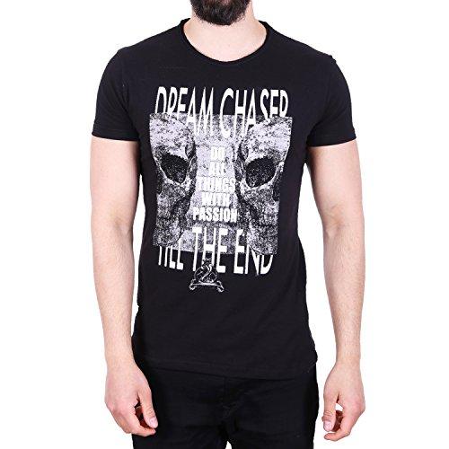 D & A Lifestyle Dream Chaser T-Shirt Schwarz Schwarz