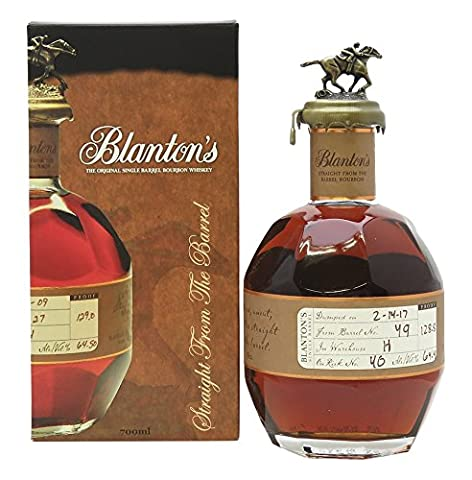 Blanton Bourbon Single Barrel Cask Whiskey (1 x 0.7 l)