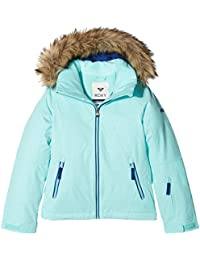 Roxy Girl's Jet Ski Solid Snow Jacket