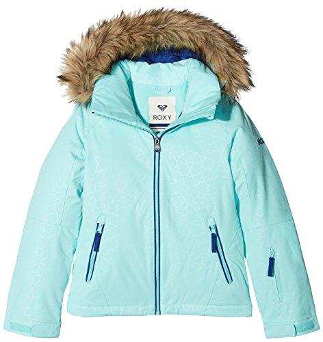 Roxy ERGTJ03039 -Chaqueta de esquí para niña, color Azul (Aruba Blue), talla X-Large