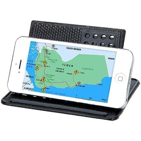Ruotato GPS Car Navigator rilievo appiccicoso magico Anti-Slip antiscivolo Mat & staffa di ferro - Rilievo Ferro