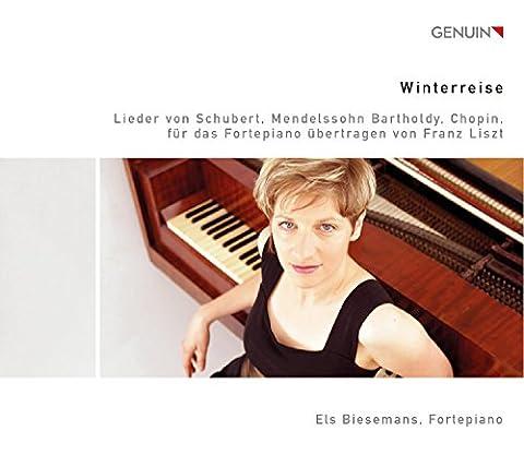 Winterreise. Schubert, Mendelssohn, Chopin : Lieder et Mélodies transcrits pour