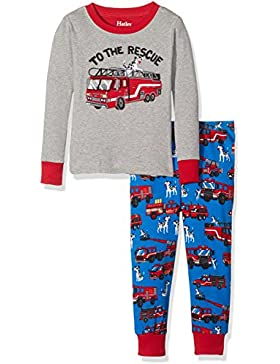 Hatley Jungen Pyjama-Sets Long Sleeve Appliqué Pyjama Set