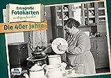 Extragroße Fotokarten zur Biografiearbeit: Die 40er Jahre (Extragroße Fotokarten zur Biografiearbeit (DIN A3))