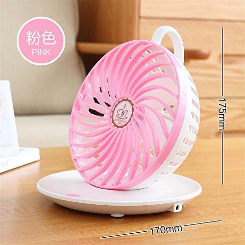 ZIJIFAN Mini USB Ventilador office estudiante carga hostales tomar creative ventiladores eléctricos...