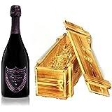 Dom Perignon Rosé Vintage 2003 Champagner in Holzkiste geflammt 12,5 % 0,75l Flasche