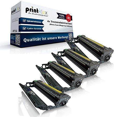 Opc Trommel-kit (4x kompatible Trommeleinheiten für Brother DCP 9010CN HL 3040CN HL 3045CN HL 3070CN HL 3070CW HL 3075CW MFC 9120CN MFC 9125CN MFC 9320CW MFC 9325CW DR 230K DR 230C DR 230M DR 230Y Black Cyan Magenta Yellow Sparset DR230)