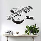 Die besten billige elektrische Gitarre - Mhdxmp Großhandel Elektrische Gitarre Wandaufkleber 3D Pvc Kreative Bewertungen
