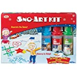 POOF-Slinky 0C8322BL Ideal Sno-Art Kit with Various Color Sno-Markers and Sno-Molds by Ideal TOY (English Manual)