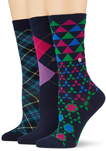 Burlington Damen Socken Ladies Gift Pack, Mehrfarbig (Sortiment 0020), 36/41
